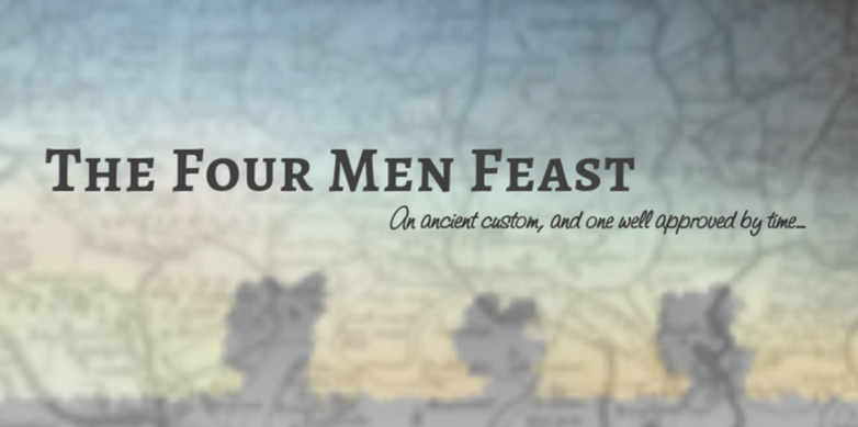 The Four Men Feast
